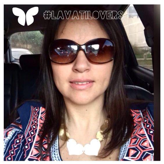 De nuestras mas queridas y fieles seguidoras! #lavatiLovers#Lavativarios