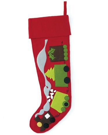 Hable Construction - Train Christmas Stocking