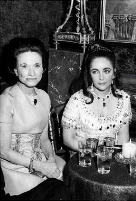 Image result for liz taylor, burton, duke of windsor paris