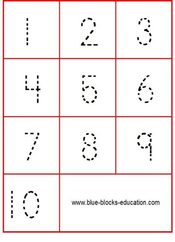 Number Names Worksheets tracing numbers for kids : Kids numbers, Kid and Cards on Pinterest