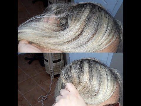 أسرار صبغ الشعر أشقر بلاتيني في البيت ليماش كولاج بالصبغة Youtube
