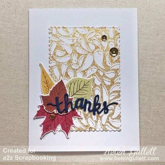 Mixed Media Thank You Card | Living My Given Life