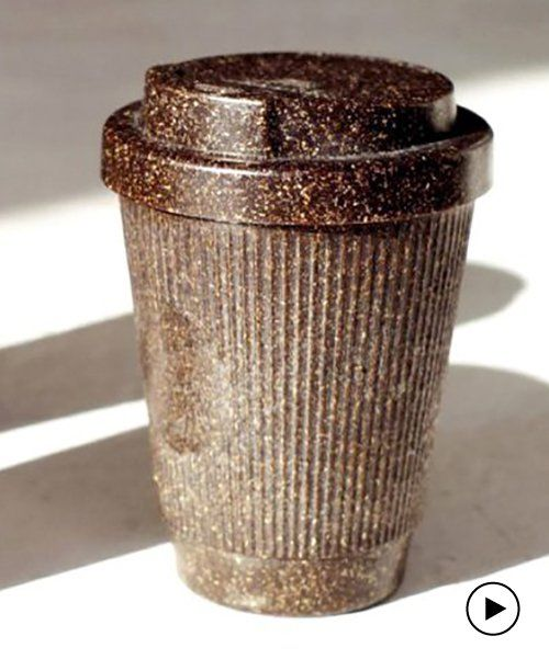 Kaffeeform: Coffee cups made from recycled coffee grounds
