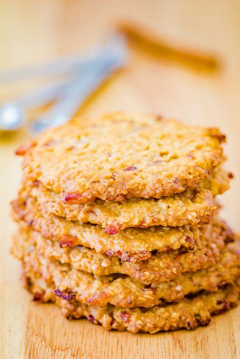 Maple Bacon Oatmeal Cookies-4