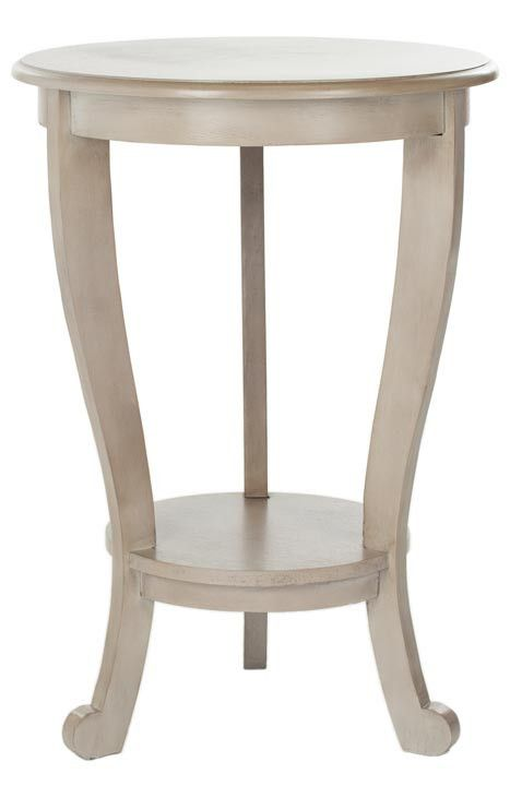 American Home Mary Pedestal Side Table design by Safavieh
