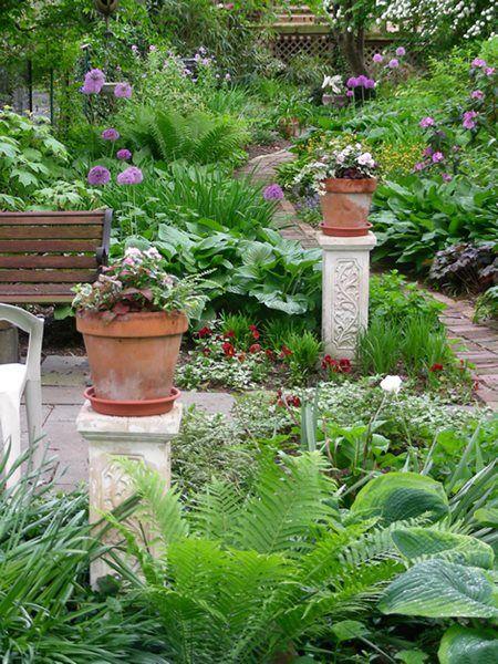 Small Garden Big Interest Eric Sternfels Homeowner Philadelphia Pa Garden Design Shade Garden Beautiful Gardens