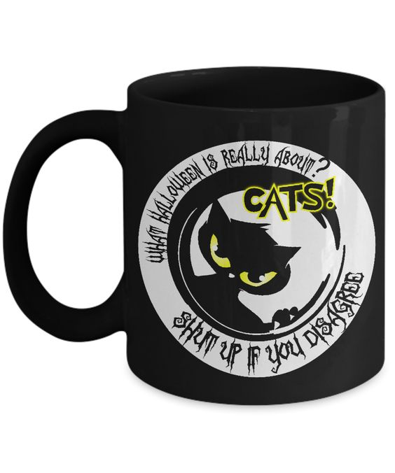 What Halloween Is Really About? - Black 11 oz Mug