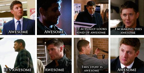 quote Awesome supernatural my stuff dean winchester Jensen Ackles spn one liner darlingdeano