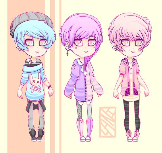pastel gore adopts by - photo #28