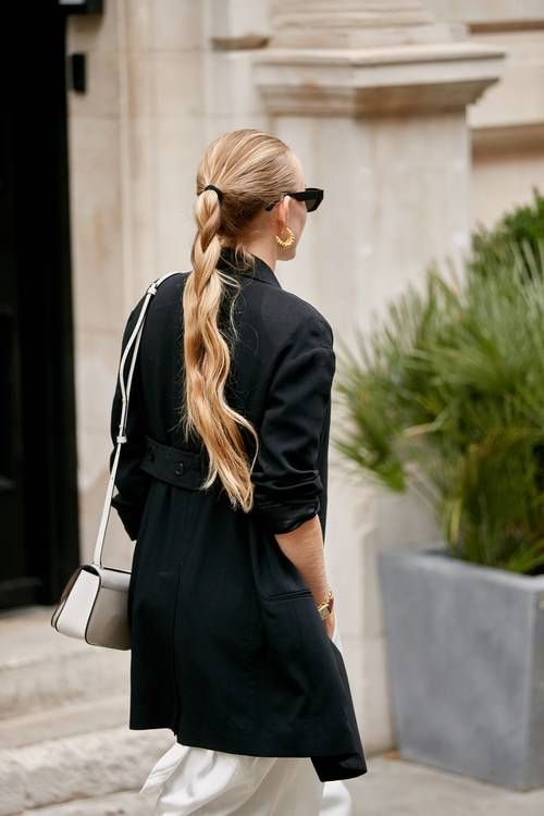 Double-Band Braids: The Hair Trend That's Going Viral | Who What Wear