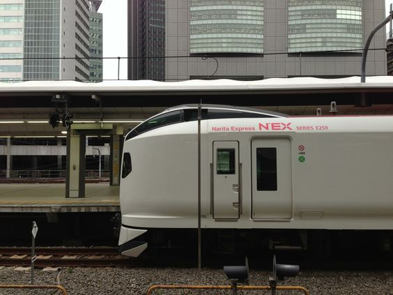 The Narita Express between Shinjyuku station to Narita airport.