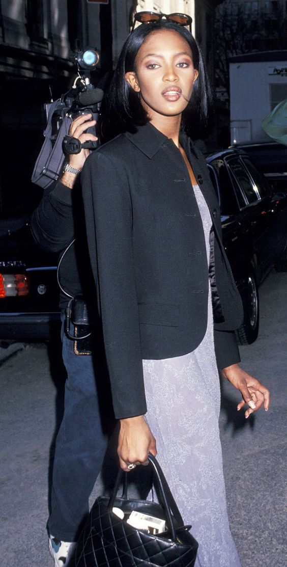 Here's What Fashion Week Looked Like in the '90s via @WhoWhatWearUK
