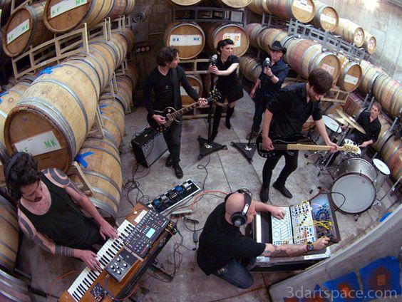 Puscifer band... Man Overboard Album in Arizona