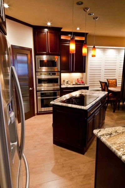 Stove Cabinets And Islands On Pinterest