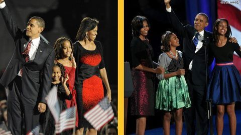 Boy they have grown, Sasha & Malia