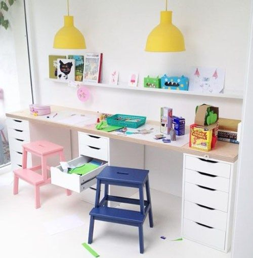 Urge Creative Thinking And Also Much Better Research Study Behaviors By Giving Your Youngster A Table Of Their Very O Baby Room Decor Ikea Kids Desk Kids Desk