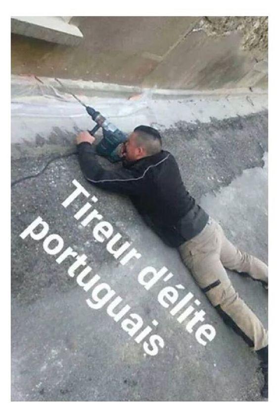 Tireur d'élite portugais