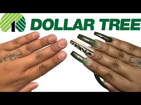 3 Products Only Dollar Tree Acrylic Nails At Home All Products Only 1 Not Clickbait Youtube Acrylic Nails At Home Nails At Home Tree Nails