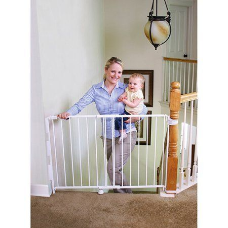 Regalo Expandable Top of Stairs Baby Gate, Includes Mounting Kit >> You can get more details here : Dog gates