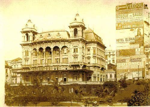 Palacete Prates no Vale do Anhangabaú Ano: década de 1920