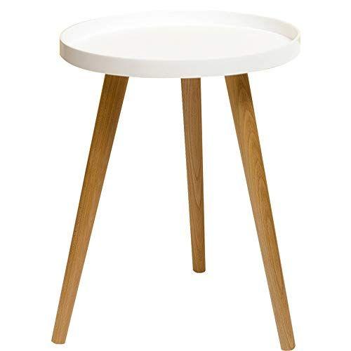 Liruipengbj Gwdj Side Table Solid Wood Living Room Sofa Side Side