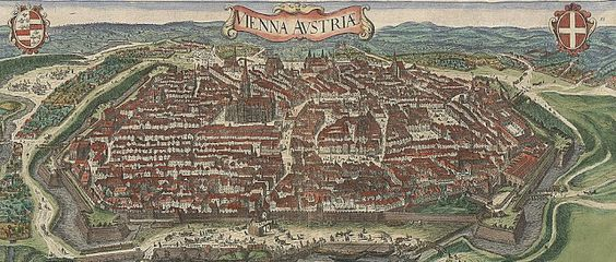 Map of Vienna Fortifications
