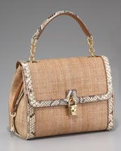 Wish List: Dolce Straw Handbag