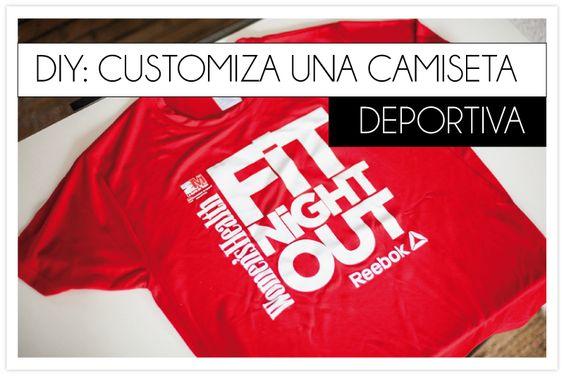 DIY customiza una camiseta deportiva