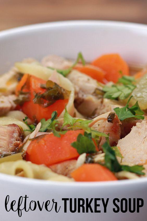 ... sticks large pots turkey soup chicken carrots leftover turkey fresh