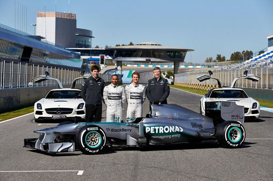Mercedes-Benz AMG | MERCEDES AMG PETRONAS LAUNCHES 2013 SILVER ARROW IN JEREZ « Nico ...