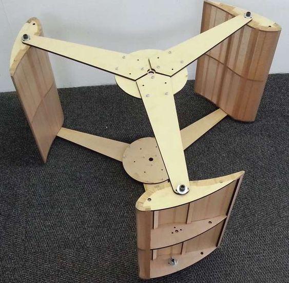 Wind turbine Spiral - AutoCAD - 3D CAD model - GrabCAD