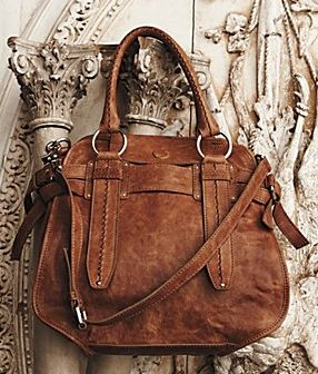 Love this camel anthropologie purse