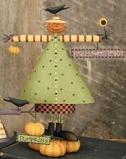 "Williraye Studio ""Milly Pumpkin"" - Lady Scarecrow Harvest Thanksgiving Figurine"
