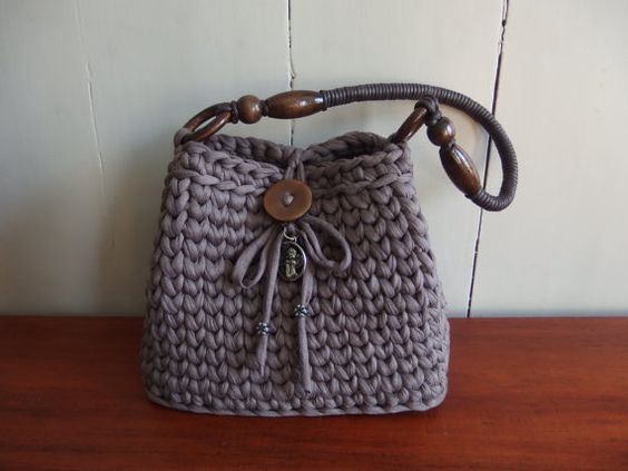 Hey, I found this really awesome Etsy listing at https://www.etsy.com/listing/292363743/crochet-t-shirt-yarn-handbag-in-the