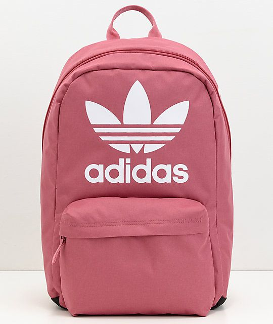 adidas Originals Big Logo Dark Pink Backpack | BIRTHDAY