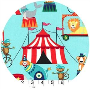 Michael Miller, Circus, Tickets Aqua  this is the sample that i have from fabric town