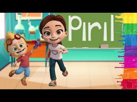 Piril Nasil Cizilir Piril Cizimi Piril Ve Arkadaslari Trt Cocuk Cizgi Film Youtube Funny Gif Kids Songs Funny Kids