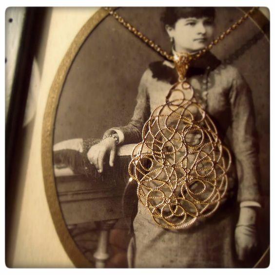 Collezione Marigold  Pendente in Argento 925 di GiorgioGuidiDesign