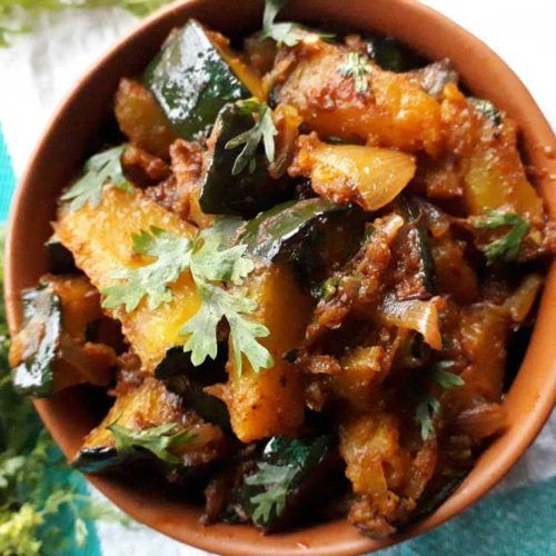 Pumpkin Curry In Authentic North Indian Style Kashifal Ki Sabzi