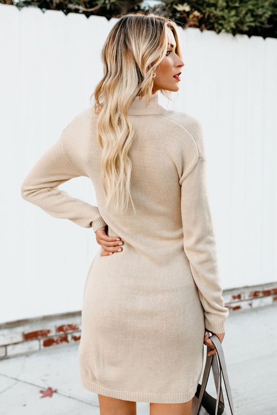 48 Sweater Dresses For School outfit fashion casualoutfit fashiontrends