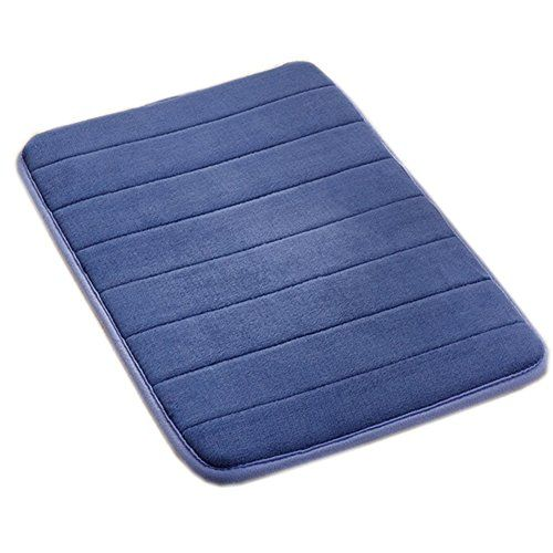 Soft Non Slip Absorbent Bath Rugs Memory Foam Bath Mats Bathroom