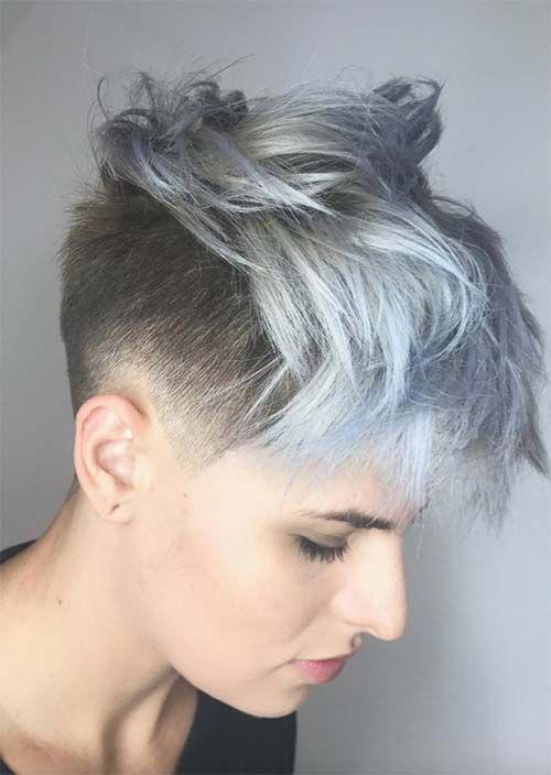 Womens Short Undercut Hairstyles Pixie Frisur Haarschnitt Haarschnitt Kurz