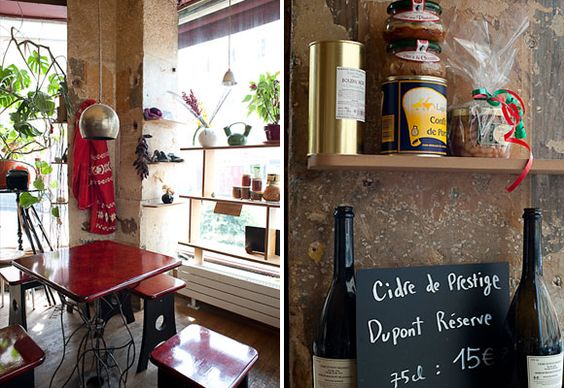 Paris snippet: i'd love to try this out (if i ever get to France)... very laid-back kind of dining