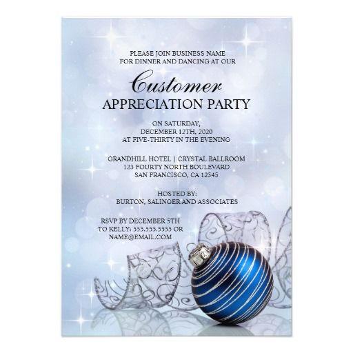 Customer appreciation, Party invitations and Invitations ...