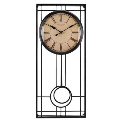 Pendulum wall clock threshold clock wall clocks and target - Contemporary pendulum wall clocks ...