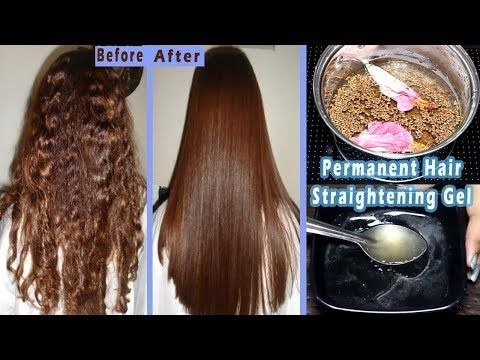 I Made This Hair Straightening Gel For Permanent Hair Straightening At Home Flax Seed Hair Gel Youtub In 2020 Flax Seed Hair Gel Flaxseed Gel Hair Straightener