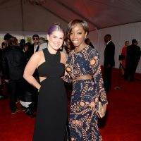 Kelly Osbourne And Estelle | GRAMMY.com- wearing Love Collins Custom Clothier