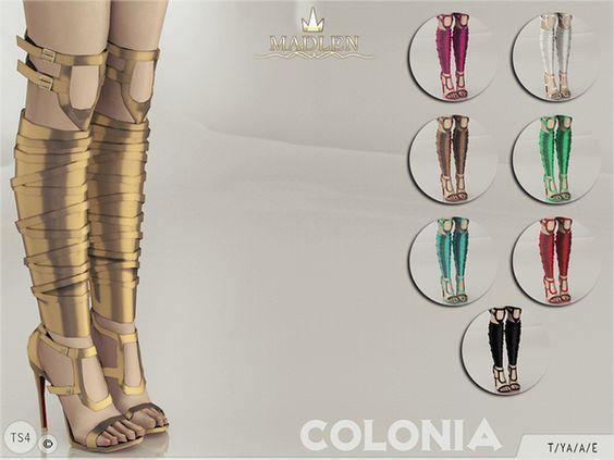 TSR : MJ95's Madlen Colonia Shoes