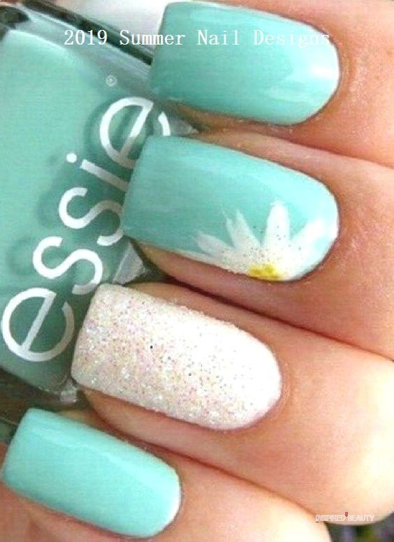 Summer Nails Beach Designs Inspired Beauty In 2020 Cute Summer Nail Designs Nail Designs Summer Cute Summer Nails