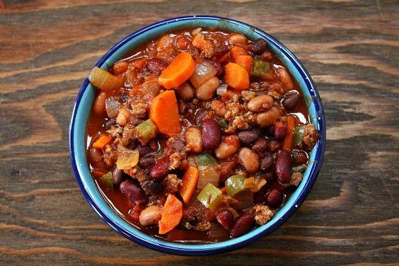 Chili! Chili chili chili chili chili! 3 bean chili!!